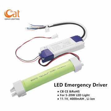 Kit de energía de emergencia LED para 5-20W