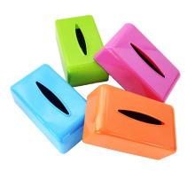 Boîte en tissu en plastique rectangulaire colorée