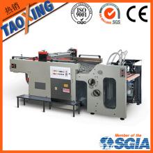 Color único color y página Máquina automática de impresión de pantalla Swing automática para cerámica decalificaciones fábrica directa