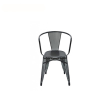Outdoor Industrial Painted Steel Tarnish Tolix Armchair