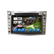 Quad core! DVD de coche con enlace de espejo / DVR / TPMS / OBD2 para la pantalla táctil de 7 pulgadas de cuatro núcleos Sistema Android 4.4 Subaru Forester