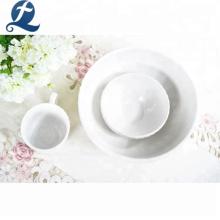 Hot sale kitchen dinnerware restaurant custom ceramic dinner set