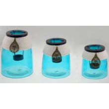 New Design Glass Candle Holder for 2016 Summer