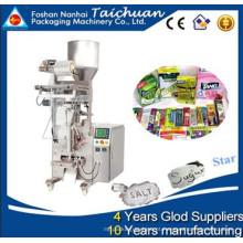 Copo de medição automática adequado para pequenas empresas de açúcar fluxo vertical granular embalagem máquina de embalagem