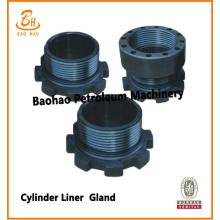 F series Bomco / Emsco Pump Parts Cylinder Liner Gland