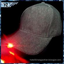 custom cheap flat brim China custom custom LED baseball cap with low price