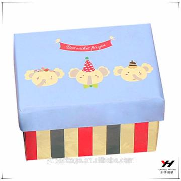 2018 design de mode personnalisé emballage imprimé cadeau belle boîte en carton