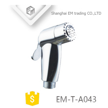 EM-T-A043 ABS polimento banheiro montagem higiênico portátil mão segure chuveiro shattaf
