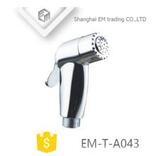 ЭМ-Т-A043 АБС полировка сторона ванная комната туалет портативный рука держать душ shattaf