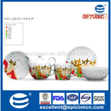 grace Christmas printing on ceramic for children