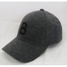100% algodón Jersey 2016 de moda de nuevo tejido de gorra de béisbol casquillo de deportes (WB-080133)