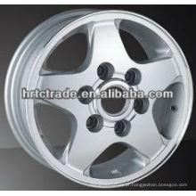 15 polegadas bonito cromo esporte replica rodas para nissan