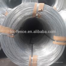 Alambre de empalme de acero galvanizado sumergido caliente revestido cinc caliente de la venta caliente de 3.7mm para construir