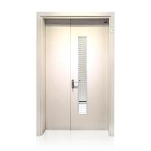 Wholesale Price Hospital Interior Doors Patient Room Door Unequal Double Steel Door