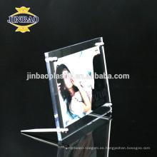 Marco de foto de marco acrílico Jinbao marco 6 mm para venta por mayor