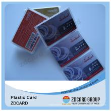 De alto precio de alta seguridad de papel / PVC Scratch de teléfono / Cell Recharge Card