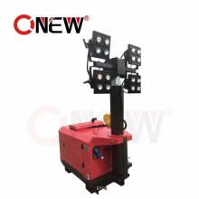 Night Scan Telecom signal Balloon Mini Portable Tower 1000W LED Obstruction Warming Crane Light Tend 24VDC