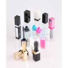 Embalaje de lápiz labial LED vacío LED de lujo tubo de brillo llevado embalaje de cosméticos
