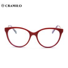 Fabricantes chinos Eyewear Acetate Frame Eyeglasses