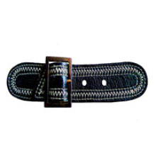 Estilo único Custom Leather Loops para prendas de vestir (HJLP04)