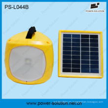 Luz Solar del LED de bajo costo con Radio con teléfono móvil cargador linterna Solar con Radio