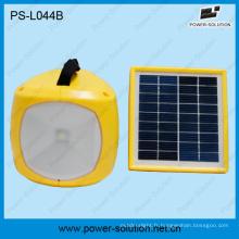 Lampe solaire LED faible coût avec Radio avec Lanterne solaire chargeur de téléphone portable avec Radio