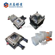 A modelagem por injecção plástica plástica útil da caixa do recipiente de armazenamento do agregado familiar feito sob encomenda