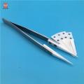 sharp medical zirconia ceramic tweezers forceps