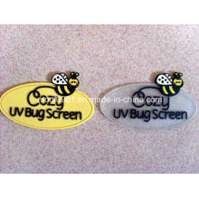 Silicone Patch Low Price Small Logo Labels/ Rubber Logo/Plastic Embossed Logo