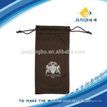 Weiche schwarze Mikrofaser Tasche für Handy