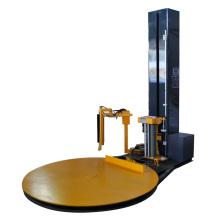 Envolvedora de paletes com corte automático de formiga de grampo