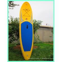 Prancha de stand up paddle, prancha de surf com ponto de queda para venda