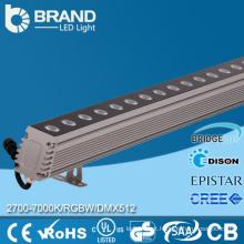 IP65 Impermeável DMX512 Controle 24W 36W DMX Wall Washer LED Light RBG LED Wall Washer