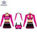 3-teilige Cheer Crop Top Outfits