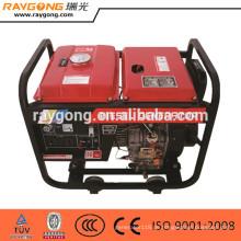 5kw luftgekühlte portable diesel generator offene rahmen typ