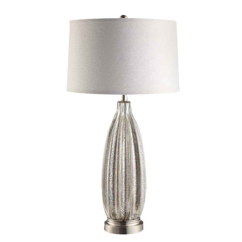Large Glass Side Lamps
