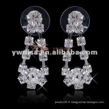 2013 bijoux de mariage de mode Pendentifs avec strass clairs pour la mariée