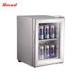 Refrigerador portátil de cristal del refrigerador de la mini nevera de la exhibición del hotel