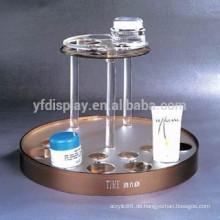 Pünktliche Lieferung Fabrik direkt Acryl Kosmetik Display-Ständer