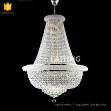 Zhongshan lighting supplier medium size crystal hanging chandelier for dining/ banquet hall 71159