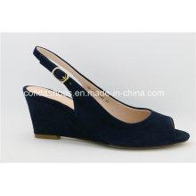 Confort moyen bas talon talon femmes mode sandales