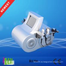 Ultrasonido portable de la cavitación + laser de RF + Lipo que adelgaza la máquina Nuevos productos de la pérdida de la pérdida de la dirección