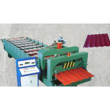 Máquina formadora de rolos de aço galvanizado com controle por computador