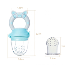 Infant Solid Nipple Mesh Dummy Silicone Fresh Food Best Teething Fruit Baby Net Food Feeder Pacifier