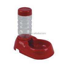 Portable Plastic Feeding Bowl Travel Pet Water Bottle Feeder