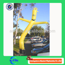 Bailarina inflable del aire del precio barato con el soplador para la venta
