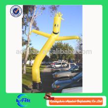 Dançarino inflável do ar do preço barato com ventilador venda