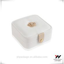 Luxus Handmade Custom Logo Printed Paper Schmuck Geschenk Box Uhrenboxen Großhandel