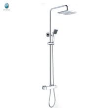 KWM-11 produit innovant carré tête de douche en plastique avec douche tube en cuivre massif monté bain douche mitigeur