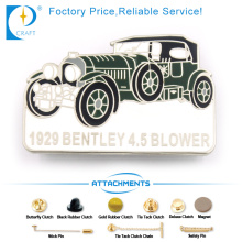 Blower Pin Badge in Zinc Alloy with Car Shape